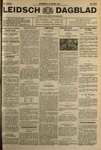 Leidsch Dagblad 1932-03-10