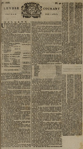 Leydse Courant 1808-04-01