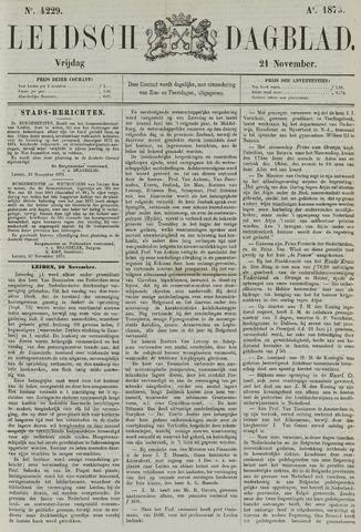 Leidsch Dagblad 1873-11-21