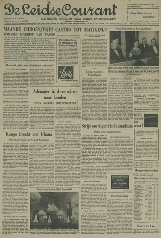 Leidse Courant 1960-11-19