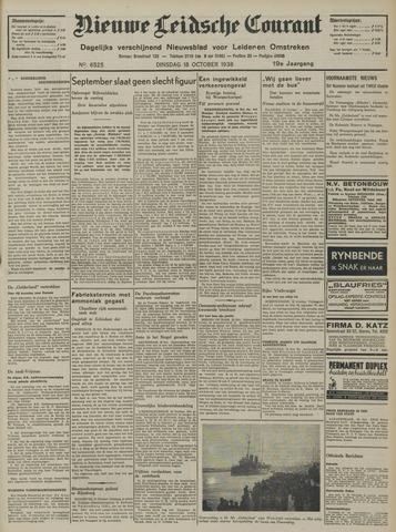 Nieuwe Leidsche Courant 1938-10-18