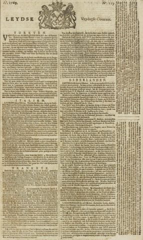 Leydse Courant 1769-10-27