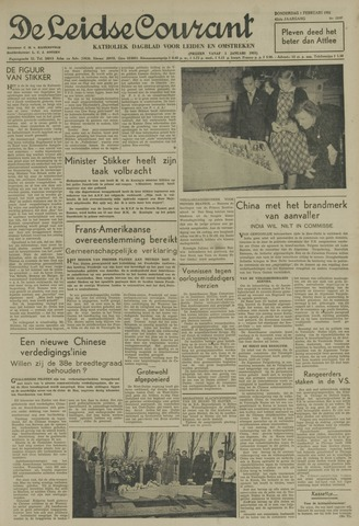 Leidse Courant 1951-02-01