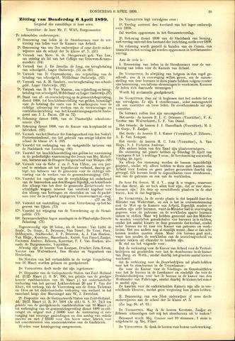 Handelingen van de Raad 1899-03-23
