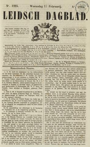 Leidsch Dagblad 1864-02-17
