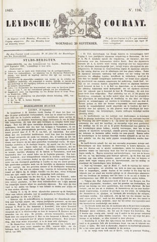 Leydse Courant 1865-09-20