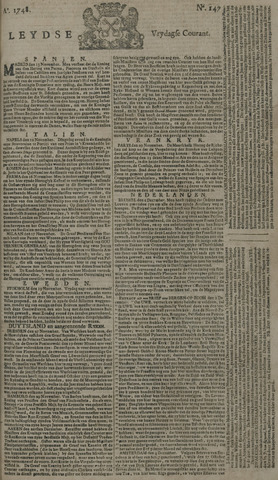 Leydse Courant 1748-12-06