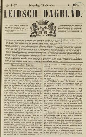 Leidsch Dagblad 1864-10-25