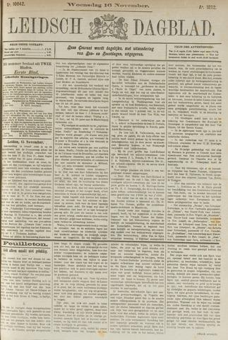 Leidsch Dagblad 1892-11-16