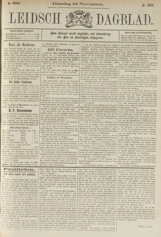 Leidsch Dagblad 1892-11-15