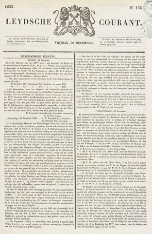 Leydse Courant 1853-12-30
