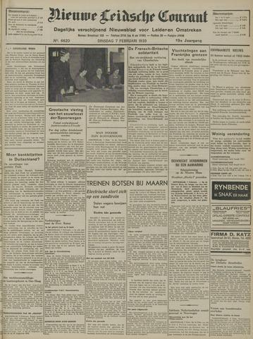 Nieuwe Leidsche Courant 1939-02-07