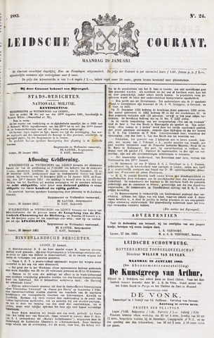 Leydse Courant 1883-01-29