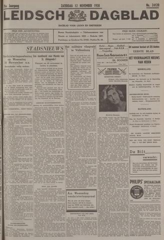 Leidsch Dagblad 1938-11-12