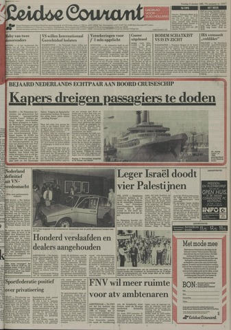 Leidse Courant 1985-10-08