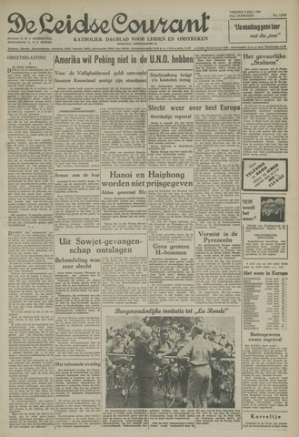 Leidse Courant 1954-07-09