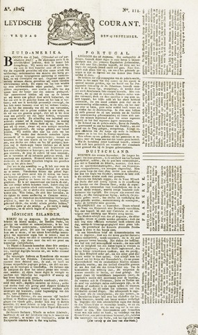 Leydse Courant 1826-09-15