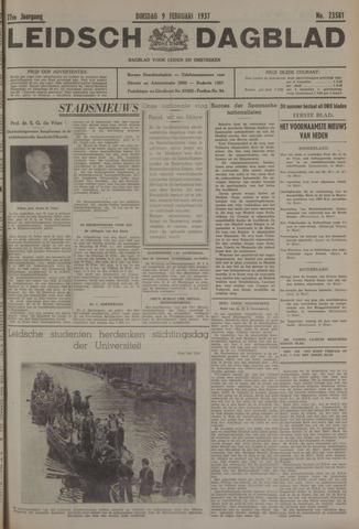 Leidsch Dagblad 1937-02-09