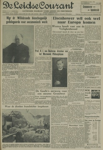 Leidse Courant 1958-07-30