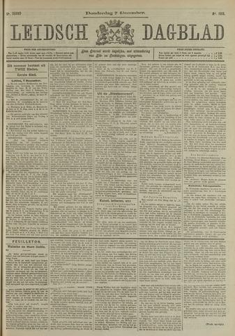 Leidsch Dagblad 1911-12-07
