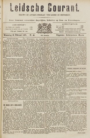 Leydse Courant 1887-02-23