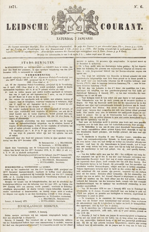 Leydse Courant 1871-01-07