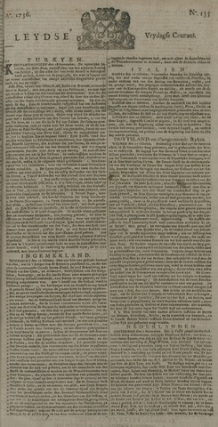 Leydse Courant 1736-11-09