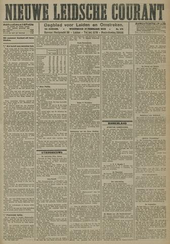 Nieuwe Leidsche Courant 1923-02-21