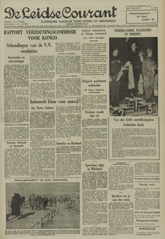 Leidse Courant 1961-02-20