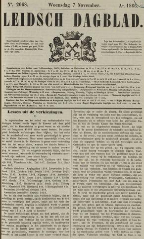 Leidsch Dagblad 1866-11-07