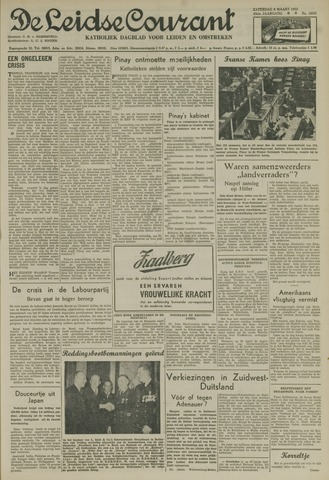 Leidse Courant 1952-03-08