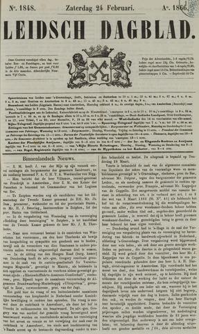 Leidsch Dagblad 1866-02-24