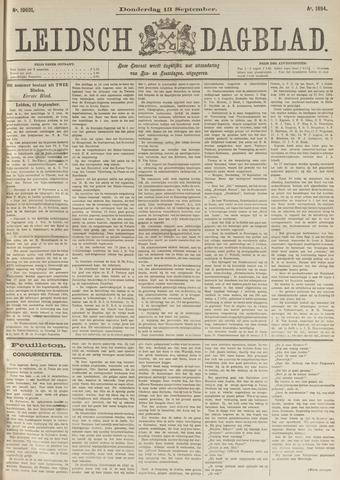 Leidsch Dagblad 1894-09-13