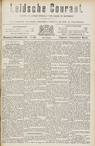 Leydse Courant 1889-11-27