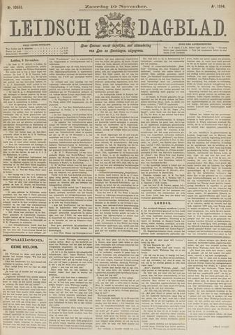 Leidsch Dagblad 1894-11-10