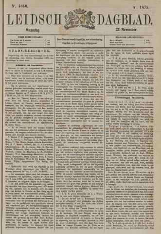 Leidsch Dagblad 1875-11-22