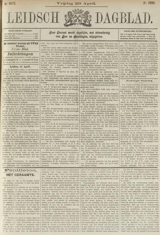 Leidsch Dagblad 1892-04-29