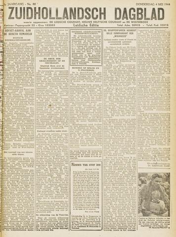 Zuidhollandsch Dagblad 1944-05-04