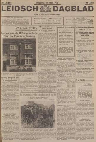 Leidsch Dagblad 1938-03-10