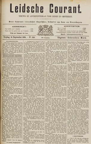 Leydse Courant 1885-09-18