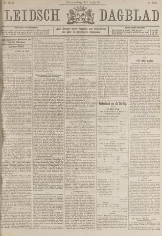 Leidsch Dagblad 1916-04-10