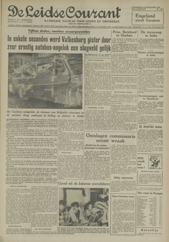 Leidse Courant 1954-09-30