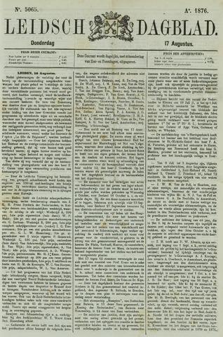 Leidsch Dagblad 1876-08-17