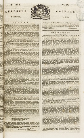 Leydse Courant 1844-05-13