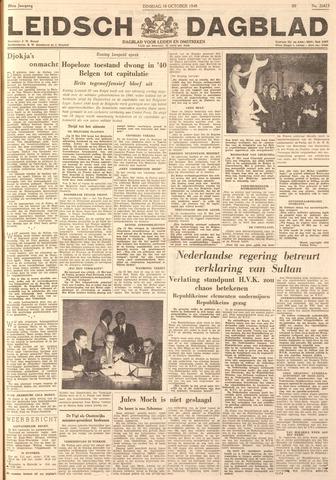 Leidsch Dagblad 1949-10-18