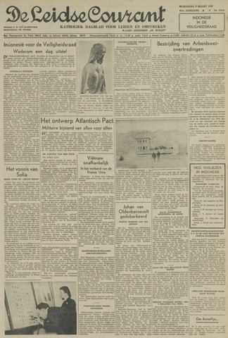 Leidse Courant 1949-03-09