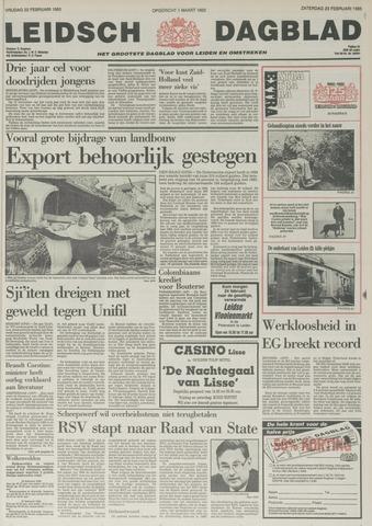 Leidsch Dagblad 1985-02-23