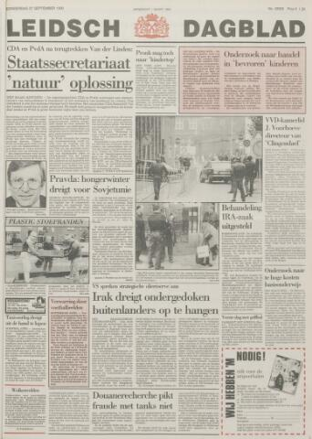 Leidsch Dagblad 1990-09-27