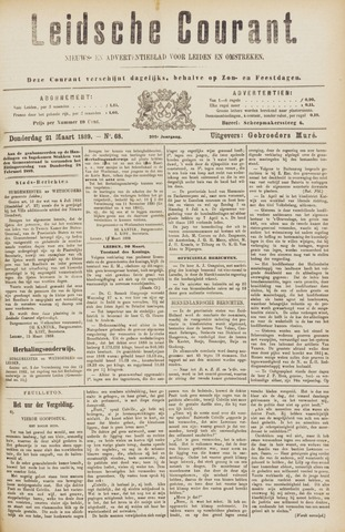 Leydse Courant 1889-03-21
