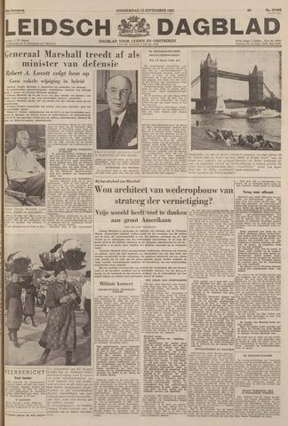 Leidsch Dagblad 1951-09-13